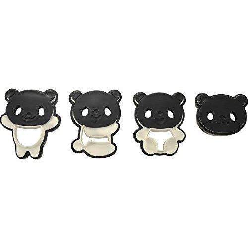 CuteZcute Panda Cookie Cutter Set (Monster Cookie Inc Cutter)