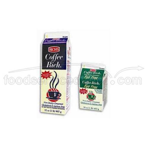 Coffee Rich Non-Dairy Creamer - 32 oz. carton, 12 cartons per (Non Dairy Products)