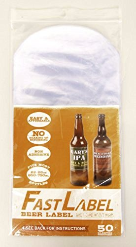 Home Brew Ohio Beer Label Sleeves 16-26oz (500-750ml) by Home Brew Ohio