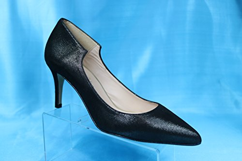JAY KAPLAN All 400 Dollar Gorgeous Womens All KAPLAN Leather Made in Spain Low Heel Pump, Sofia B078ZF1SFC 38= 7 to 7.5|Black Satin Leather 6b5440