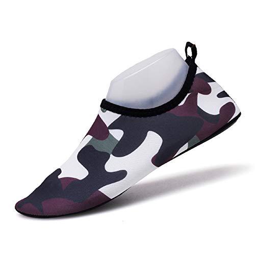 Msliy Femme Plong Homme Chaussons Aquatiques de Chaussures 04wqgrx0