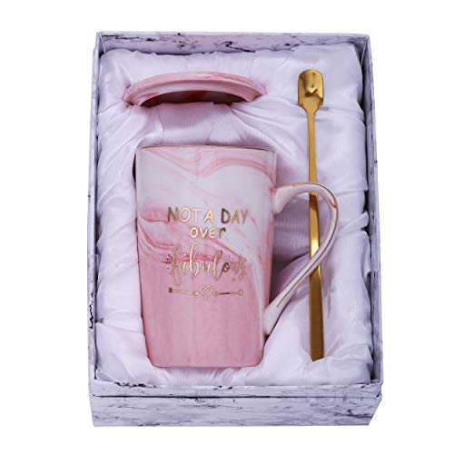 Not a Day Over Fabulous Pink or Purple Mug Set