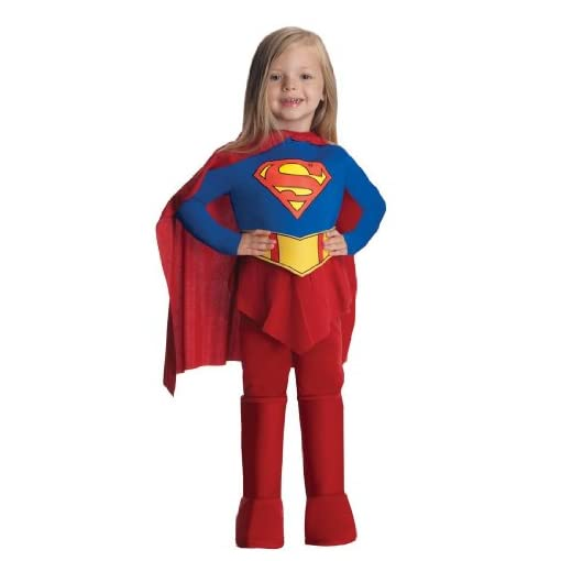 In Fashion Kids Deluxe Supergirl Costume – Girls Superhero Costumes