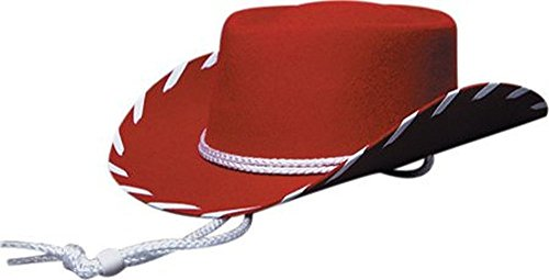 [Eddy Bros. Children's Woody Hat,Red,L-adult US] (Woody Costume Hat)
