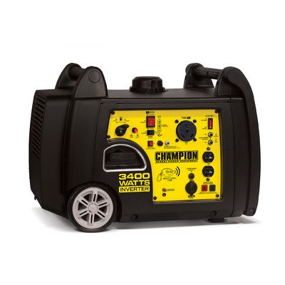 3400 Watt CARB Gasoline Inverter Generator with Wireless Remote ()