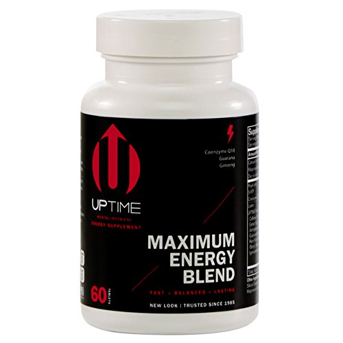 UPTIME Energy Maximum Blend Tablets – 60ct. Bottle