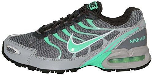 Nike Air Max Torch 4 Femmes Chaussures De Course Gris / Vert Lueur / Anthro  ...