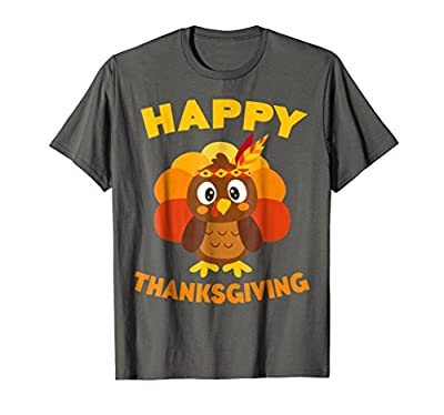 Happy Thanksgiving T-Shirt Funny Turkey Day Gift Shirt