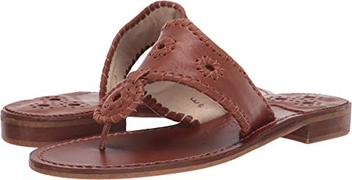 Used, Jack Rogers Women's Natural Jacks Cognac 9.5 M US for sale  Delivered anywhere in USA