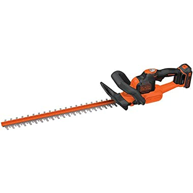 BLACK+DECKER LHT321FF 20V MAX Lithium POWERCOMMAND Powercut Hedge Trimmer