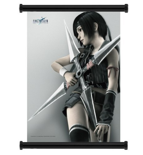 Final Fantasy VII 7 Advent Children Yuffie Fabric Wall Scroll Poster (16