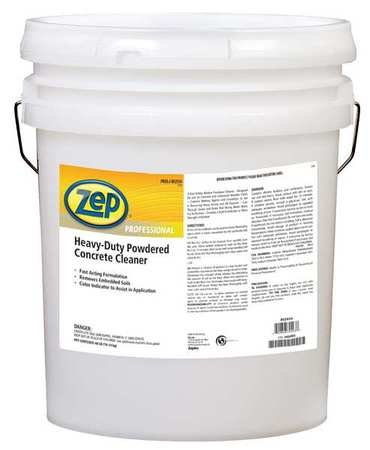 Powdered Concrete Floor Cleaner Orange