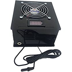 SODIAL(R) Aquarium Thermostat Chiller 70W Fish Tank Salt/Fresh Water with temperature controller