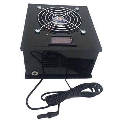TOOGOO(R) Aquarium Thermostat Chiller 70W Fish Tank Salt/Fresh Water with temperature controller
