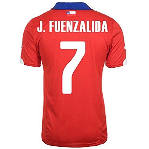 Puma Fuenzalida # 7 Chile Home Jersey (l)