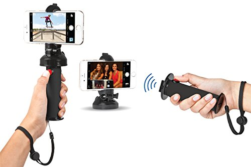 Grip Dat Selfie Photos   3 In 1 Ultimate Selfie Stick For Photography   Capture Life Easier With Bluetooth Remote Ideal For Iphone  Galaxy  Android  Nokia  Gopro   Mountable  Waterproof