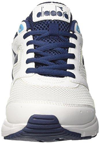 Uomo Corsa 9 bianco Shape Blu C2122 Argento Bianco Scuro Ottico Diadora Da Scarpe RxIZ5wRE