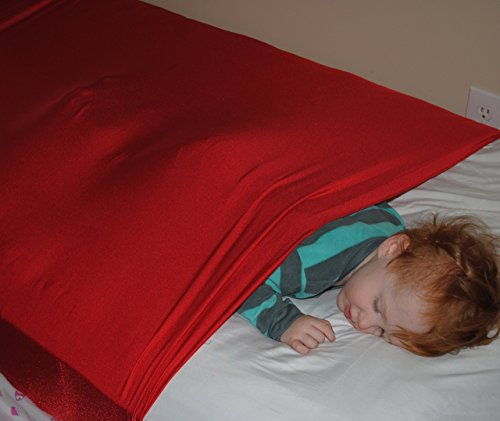 SnugBug: A Weighted Blanket Alternative. A bed wrap that provides the deep pressure input to needed to calm the nervous system.