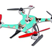 Skin For Blade 350 QX3 Drone – Cool Corgi | MightySkins Protective, Durable, and Unique Vinyl Decal wrap cover | Easy To Apply, Remove, and Change Styles | Made in the USA