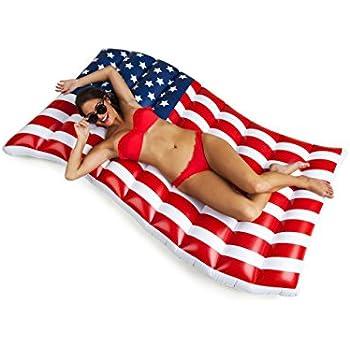 Amazon Com Bigmouth Inc Giant Waving American Flag Pool