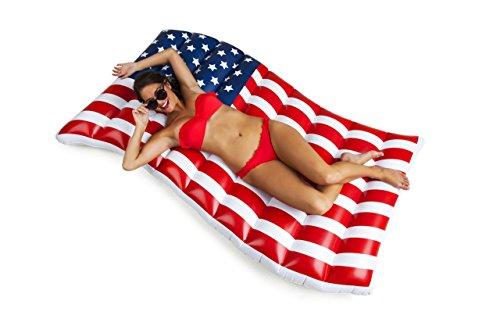 American Pool (BigMouth Inc Giant Waving American Flag Pool Float)