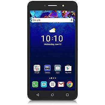 Alcatel Pixi 4 6-Inch LTE Unlocked Smartphone with 1 GB RAM, 8 GB ROM, U.S. Warranty - (Metallic Silver)