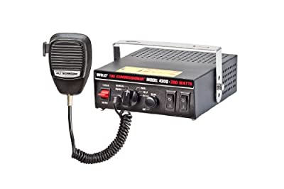 Wolo (4200) The Commissioner Electronic Siren and P.A. System - 12 Volt
