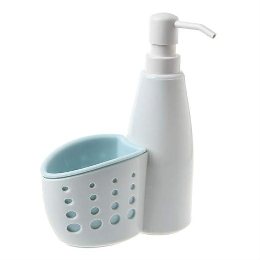 WJJW Dos en uno Dispensador Caja de Almacenamiento Detergente ...
