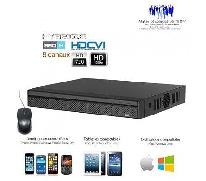 DVR Dahua – Registrador HDCVI Full 1080p para 8 Cámaras de vigilancia – dvr-5108