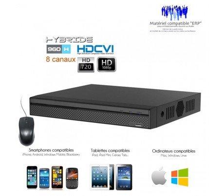 DVR Dahua - Registrador HDCVI Full 1080p para 8 Cámaras de vigilancia - dvr-5108 - 516: Amazon.es: Bricolaje y herramientas