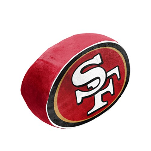 y Officially Licensed NFL San Francisco 49ers Cloud Pillow, Red ()