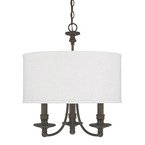 Light Chandelier Capital Lighting - Capital Lighting 3913BB-453 Three Light Chandelier