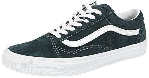 Skool U Adulto Zapatillas Oscuro Unisex Verde Vans Old qEwdXxCCR