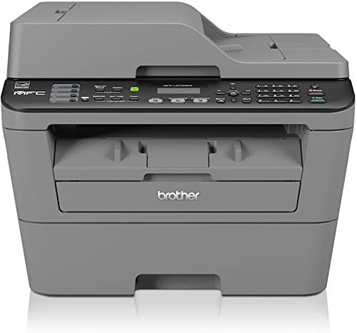 Brother MFC-L9DW Monolaser-Multifunktionsgerät (Drucker, Kopierer,  Scanner, Fax, 9 x 9 dpi, WLAN, USB 9.9) grau