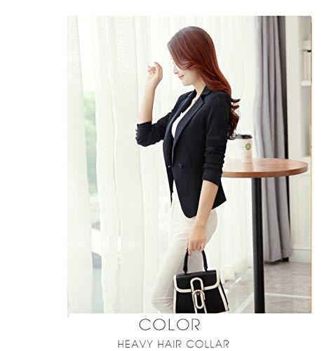 Mi maravilloso mundo de la mujer casual OL Candy Color Slim Fit Oficina  Blazers de Solapa  Amazon.com.mx  Ropa 27acca8a64b27
