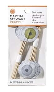 Martha Stewart Crafts Food Pick, Eyeball Outdoor, Home, Garden, Supply, Maintenance
