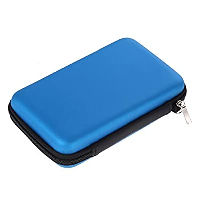 Coohole Colorful EVA Bag Carrying Case Cover Organizer 10 Game Cartridg For Nintendo 3DSLL/XL