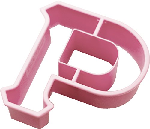 (Live Greek, Greek Alphabet Letter Shaped Cookie Cutter, RHO Shape, 3 Inches Long, Great Gift, Big Sis/Lil Sis, Fundraising, Parties, Sororities, Fraternities, Panhellenic, Art Stencil)