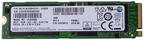 Samsung MZVLW256HEHP PM961 256GB M.2 NGFF PCIe Internal SSD - OEM by Samsung