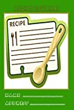 RECIPE JOURNAL: Blank hardcover personalized cookbook for perfect wife girls teen college student