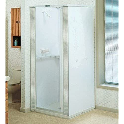 Mustee 140 36 In X 36 In Shower Stall