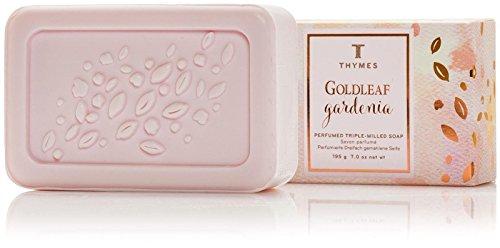 (Thymes Goldleaf Gardenia Bar Soap - 7 oz)