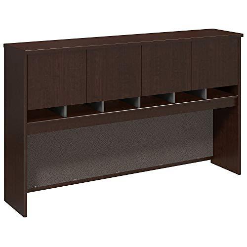 Bush Business Furniture Series C 72W 4 Door Hutch in Mocha Cherry