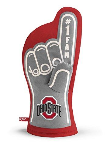 YouTheFan NCAA Ohio State Buckeyes #1 Oven Mitt (Ohio State Grill)