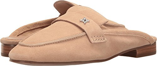BCB Generation Womens Sabrina Suede Square Toe Mules Tan Shell Calf Suede Size 5.5 M US