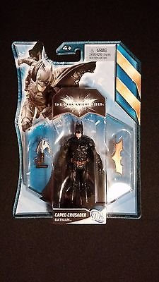 DC Batman Caped Crusader Figurine with Batarang DARK (Batarang For Sale)