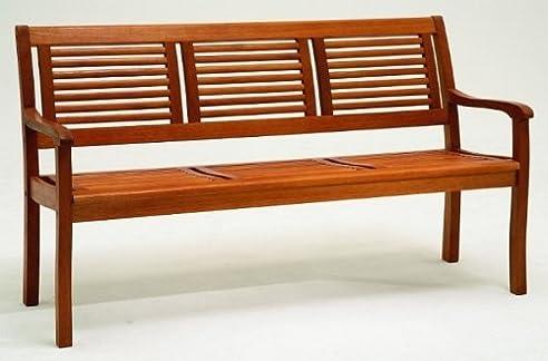 Amazon.De: Gartenbank 3-Sitzer Eukalyptus-Holz