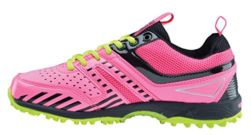 Chaussures De Hockey Greys G5000, Couleur: Rose / Lime-8 Uk