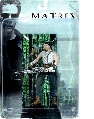 2000 N2 Toys The Matrix Action Figure - Tank