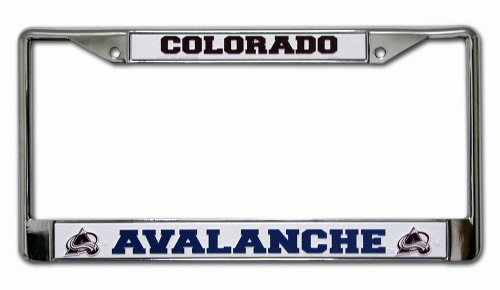 NHL Colorado Avalanche Chrome Frame (Colorado Outlets)